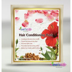 If you like to condition your hair naturally!! Evescafe offers an effective Hair Conditioning Hair pack for you. And also this hair conditioner suitable for all types of hair. You can apply this hair pack paste to your scalp and massage in a circular motion. Surely you can get a better result.