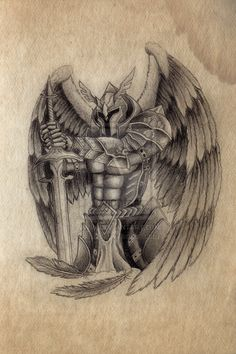 Archangel drawing #drawing #angel #archangel #draw #art #artist