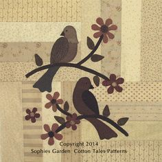 Sophie's Garden New! Coming Soon from Cotton Tales Patterns