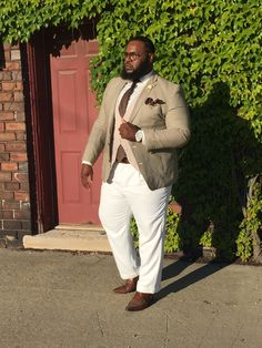 Large Men Fashion, Big Fashion, Mens Fashion, Fashion Hair, Work Fashion, Sharp Dressed Man, Well Dressed Men, Big And Tall Style, Plus Sise