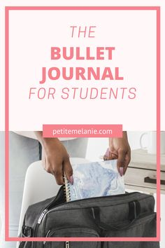 Bullet Journaling for students, Part 1, 2 and 3. Tips to help students to be more organized during the school year. The complete guide to help students be more organized with a Bullet Journal during the school year. Class schedule, weekly schedule, homework, group projects, budget, finances, meal prep. Bullet Journal School, Bullet Journal Layout, Bullet Journal Inspiration, Weekly Schedule, Class Schedule, Journal News, Group Projects, New School Year, High School Students