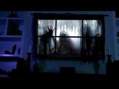 tips tricks on how to turn your window into the coolest halloween attraction on your block simply by using a video projector w an atmosfearfx digital