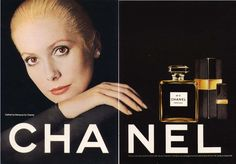 Catherine Deneuve for Chanel No 5 ad 1972