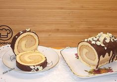 Gesztenyés rolád recept foto My Recipes, Recipies, Minion, Food And Drink, Xmas, Cooking, Roll Cakes, Cook Books, Snacks