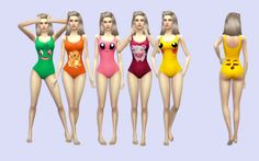 chubbywaddles:  Base Game Bathing Suits RecolorsMesh by EA.Images from google.Female Teen, YA, A, Elder.Custom thumbnail.If you come by any problems please let me know!!If you'd like, tag me so I can see all your cute sims with my recolor @chubbywaddles or #chubbywaddlesDownload [mirror]I hope you all like it!!