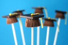Chupachups de chocolate de GRADUACION!!!