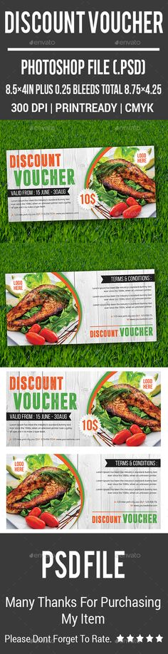 Gift Voucher Template Psd  Gift Voucher Templates