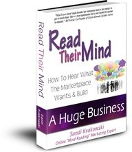 Reading peoples minds make doing business online a LOT easier! Find An amazing woman who really loves to give the love to other women entrepreneurs! Learn how she built a client base of over 220,000 people in just 24 months! Get it for free!  www.arealchange.com/
