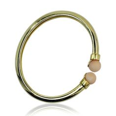 Gold Armband, Bangles, Bracelets, Jewelry, Pink, Coral Jewelry, Vintage Jewellery, Bangle Bracelet, Yellow