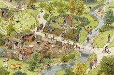 farm — Der Ausflug: Eine Wimmelbilder-Geschichte.Doro Göbel & Peter Knorr (1474×964)