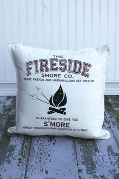 Fireside Smore Co. Rules Pillow Cover