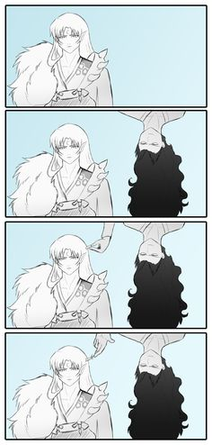 Sesshomaru and Naraku by Rubberfreak.deviantart.com on @DeviantArt