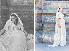 Speciaal ontworpen door modeontwerper Mattijs van Bergen voor de zwangere Layla // Fotograaf: Bemind fotografie // Girls of honour