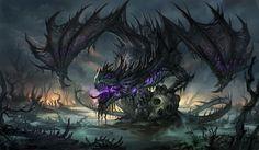 Dragon negro sandara