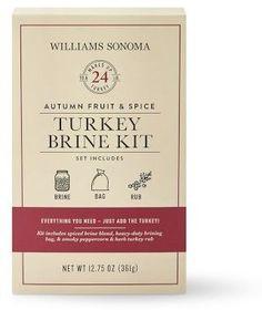 Williams-Sonoma Williams Sonoma Turkey Seasoning Brine Kit