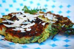 Broccoli & potato pancakes