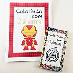 Kit Colorir - Vingadores