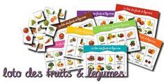 Lotos vocabulaire : 6 lotos ( metiers, corps, vetements, maison, animaux, fruits et légumes)