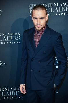 Liam Payne at the #FiftyShadesFreed premiere in Paris - 6/2