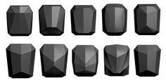 United Nude / Stealth Unisex backpack on Behance Cube Design, Form Design, Shape Design, Design Elements, Pattern Design, Linux, United Nude, Body Worn Camera, 3d Camera