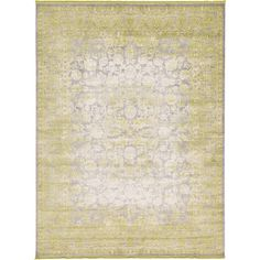 Found it at Wayfair - Wilton Light Green Area Rug