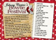 Johnny Carino's Bowtie Festival....John will love me forever! :)
