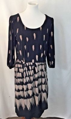7b649a828072 Max and Cleo Brown and Black Dress Size Medium  MaxCleo For Less