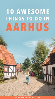 Top 10 awesome things to do in Aarhus - Denmark's happiest city! Move over Copenhagen, Aarhus is the perfect place to spend a weekend! What to do in Aarhus. Den Gamle By, Your Rainbow Panorama, Aarhus Street Food, Aarhus Festuge and so much Aarhus, Visit Denmark, Denmark Travel, Poland Travel, Italy Travel, Odense, Hans Christian, Denmark Winter, Copenhagen Travel