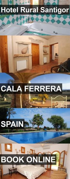Hotel Hotel Rural Santigor in Cala Ferrera, Spain. For more information, photos, reviews and best prices please follow the link. #Spain #CalaFerrera #HotelRuralSantigor #hotel #travel #vacation
