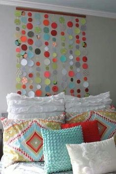 great idea for kids room headboard