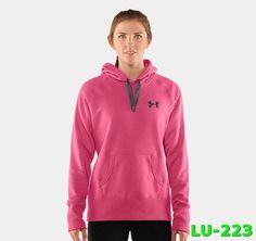Fashionable Under Armour Womens Storm Hoodie Sweatshirt Pink XV809725