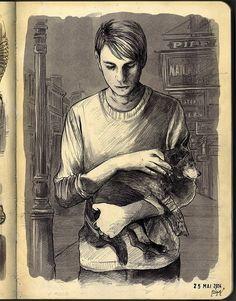 Skinny Steve Rogers sketch