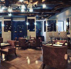 Koursaros Restaurant | Maria Kardami | Interior Designer Conference Room, Restaurant, Interior Design, Table, Projects, Furniture, Home Decor, Nest Design, Log Projects