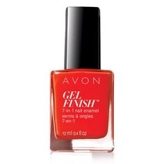 7 benefits in one little bottle! Get the best at home gel nails with Avon Gel…