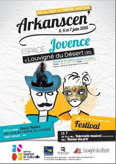 Festival de théâtre amateur les 5, 6 et 7 juin à Jovence