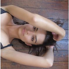 Emily Ratajkowski On Her Beauty Secrets Dressing Like The Dancing Lady... ❤ liked on Polyvore featuring emily