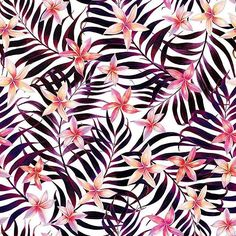 #patternbankdesigner » patternbank.com/elmiraamirova – New pattern 'Plumeria and Dark Leaves' is now available for purchase at my Patternbank page #textiledesign #fashion #tropical #surfacedesign #newonpatternbank #botanical #plumeria #handpainted #textiledesigner #artwork #pattern IG: @elmiraamirova