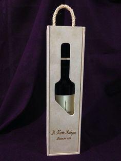CVIM005 - Caja para Vino Personalizada Tipo2 Tapa Troquelada Más