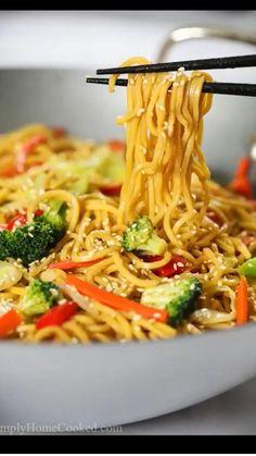 Tasty Videos, Food Videos, Recipe Videos, Tasty Vegetarian Recipes, Healthy Recipes, Veggie Pasta Recipes, Healthy Chinese Recipes, Easy Vegetable Recipes, Easy Asian Recipes