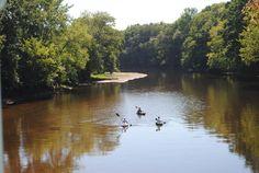 Bridge of Flowers, Farmington River, Simsbury CT