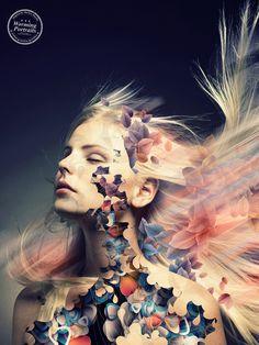 Retratos digitales por Markus Müller ⋮ Pixelismo