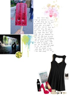 """i want a long holiday . i hate school"" by penggg ❤ liked on Polyvore"