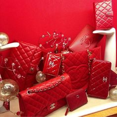 No such thing as too much red