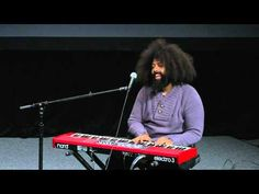 Reggie Watts is an amazing performer. Listen carefully as you watch this video.