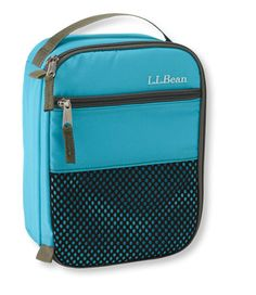 Fits Yumbox with room for drink and snack. LLBean