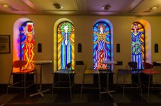 Be awed by the scale of the Temple Sholom's 1,350-seat sanctuary and its eclectic collection of stained glass during Open House Chicago 2017.