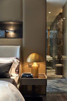 Greenland Hongqiao World Center apartment model room design (10) ...