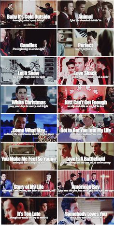 """""""@AnahiHND: [FUN FACT ] Klaine is the couple with more duets on #glee """" Klainers are so lucky they get so many duets"""