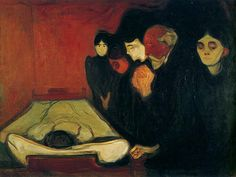 O leito de morte