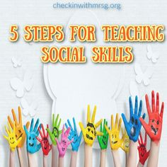 Teach social skills in your classroom in 5 steps. You cannot simply throw worksheets on social skills in front of a group of students and expect them improve. Each group is unique in their ever changing needs, abilities, and specific IEP goals. However, there are a few things that will set you up for success no matter what your students need to learn. Here are 5 steps for creating an outstanding social skills group! social-skills teach-social-skills Brainstorming Activities, Social Skills Activities, Teaching Social Skills, Teaching Resources, List Of Skills, Life Skills, Student Problems, Any Book, Best Teacher